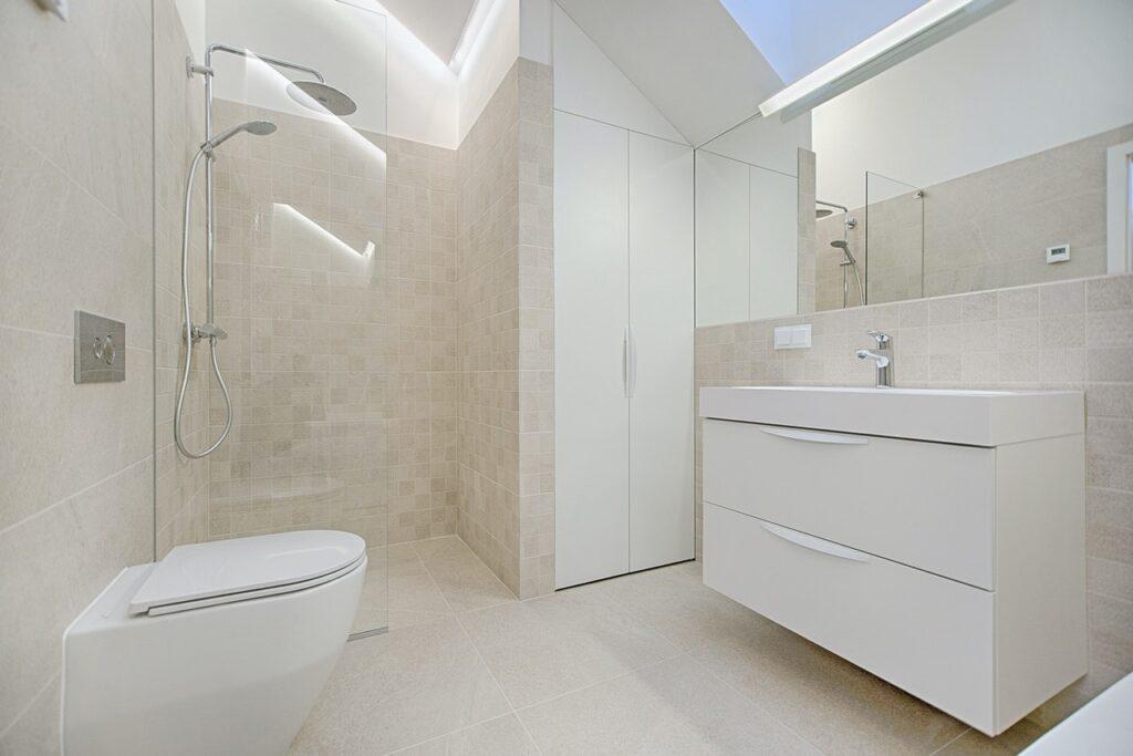 badeværelse af fliser